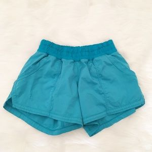 Lululemon blue athletic shorts size 4